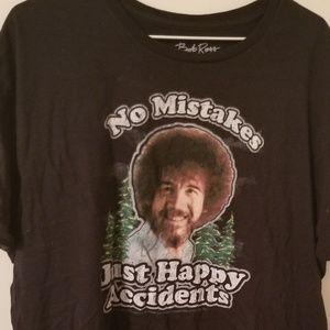 Tops - Women's XL Bob Ross T-Shirt